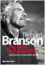 Copertina Business senza segreti Richard Branson
